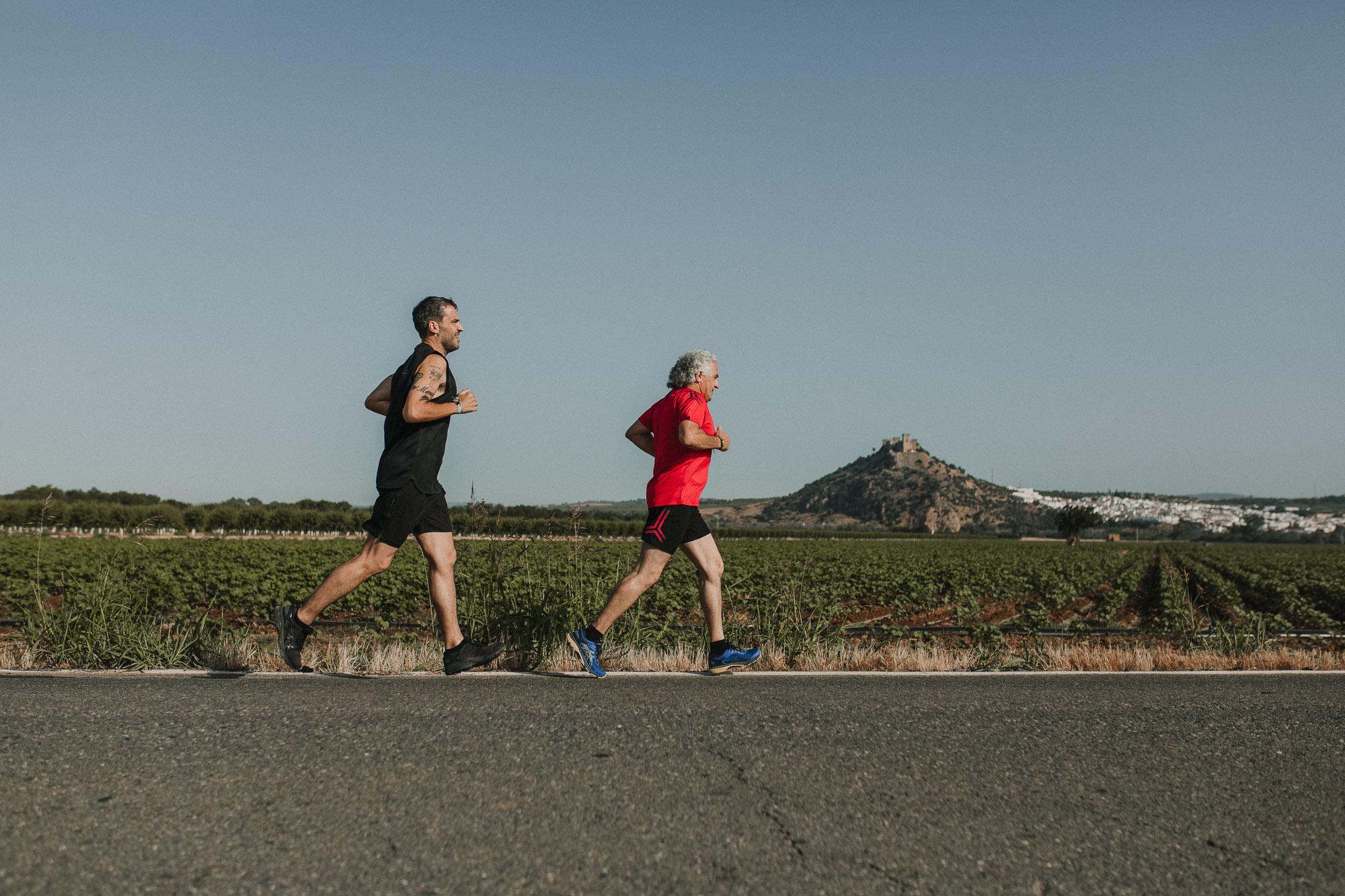 Reportaje de fotografía running